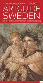 omslag tryckt Konstkalender, nr 2 år 2014