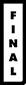 Logotyp för Galleri Final